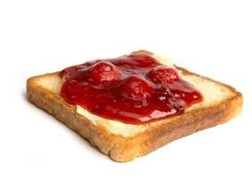 Jamming Toast Strawberry